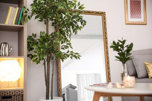 Acheter Un Grand Miroir Design Pour Decoration Or