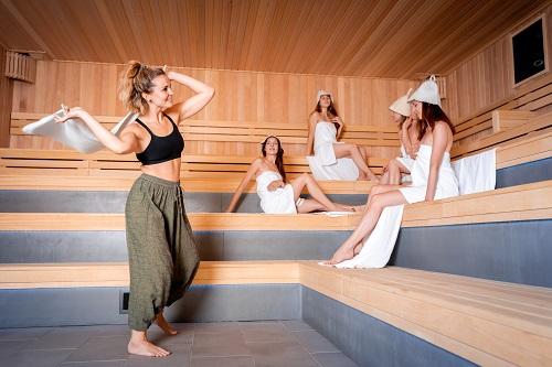 Le sauna d'extérieur est la solution